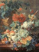 HUYSUM, Jan van Fruit and Flowers s oil painting artist